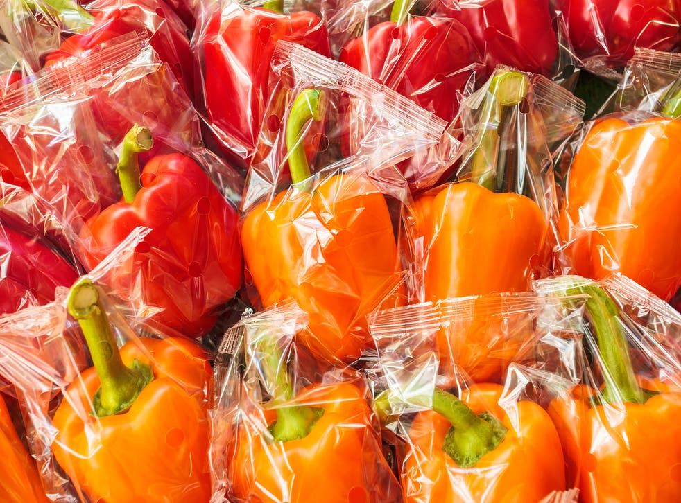 <p>Peppers are among the items which must be sold free of plastic wrapping from January 2022</p>