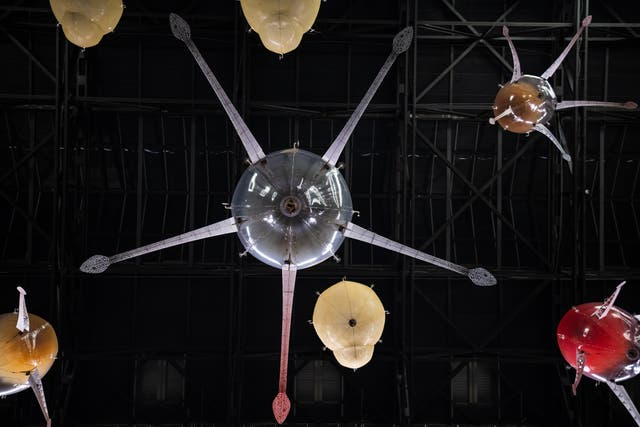 <p>Anicka Yi's 'In Love With The World' at the Turbine Hall  </p>
