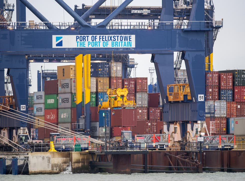 <p>Large vessels are being directed away from the main UK ports</p>