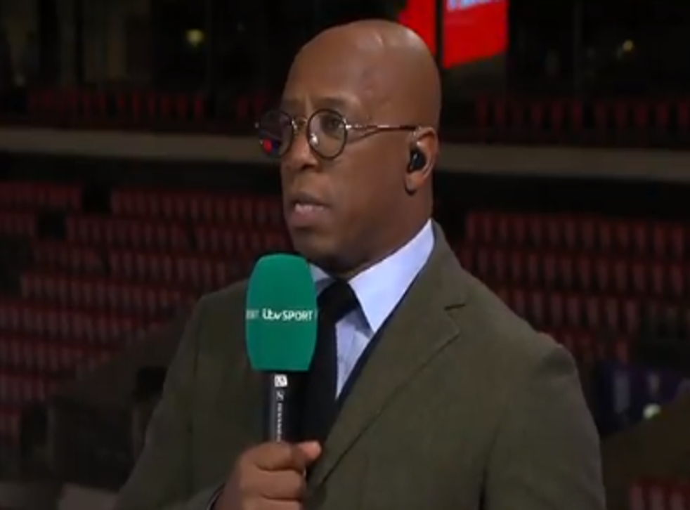 <p>Ian Wright: 'It was disappointing seeing Jack Grealish go off' </p>