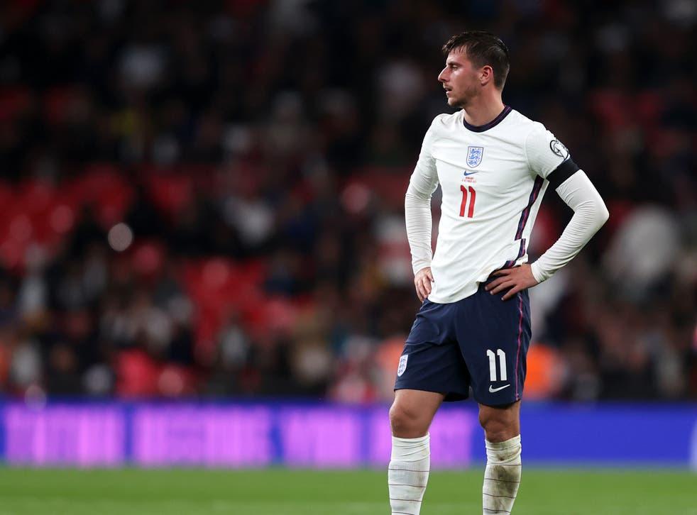 <p>England and Chelsea midfielder Mason Mount</p>