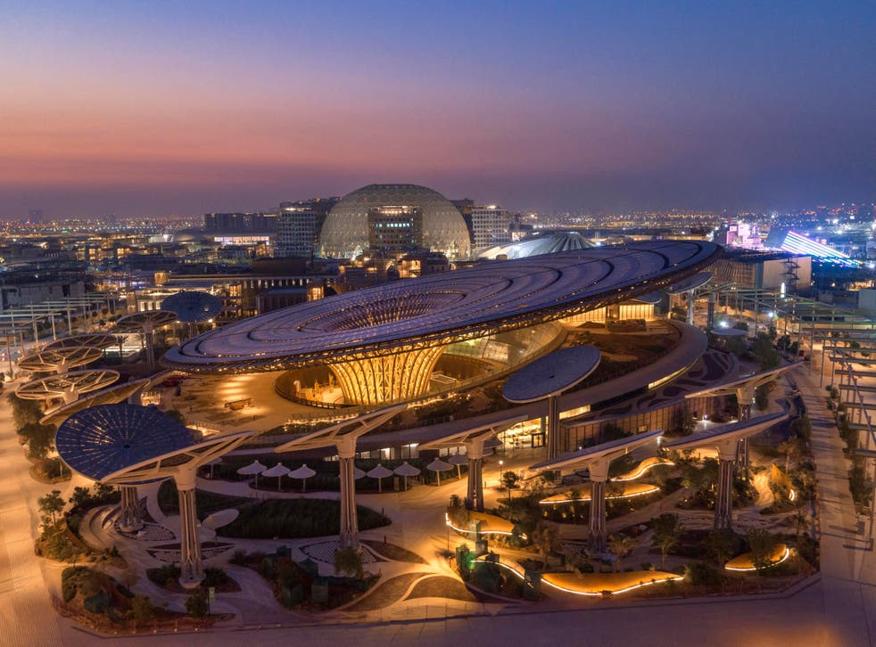 Expo's Sustainability Pavilion (Expos 2020 Dubai/PA)