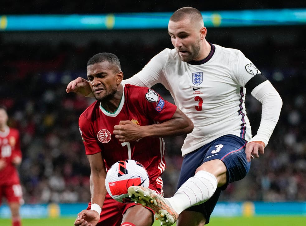<p>Luke Shaw insists England will come back better next month after a poor performance against Hungary </p>