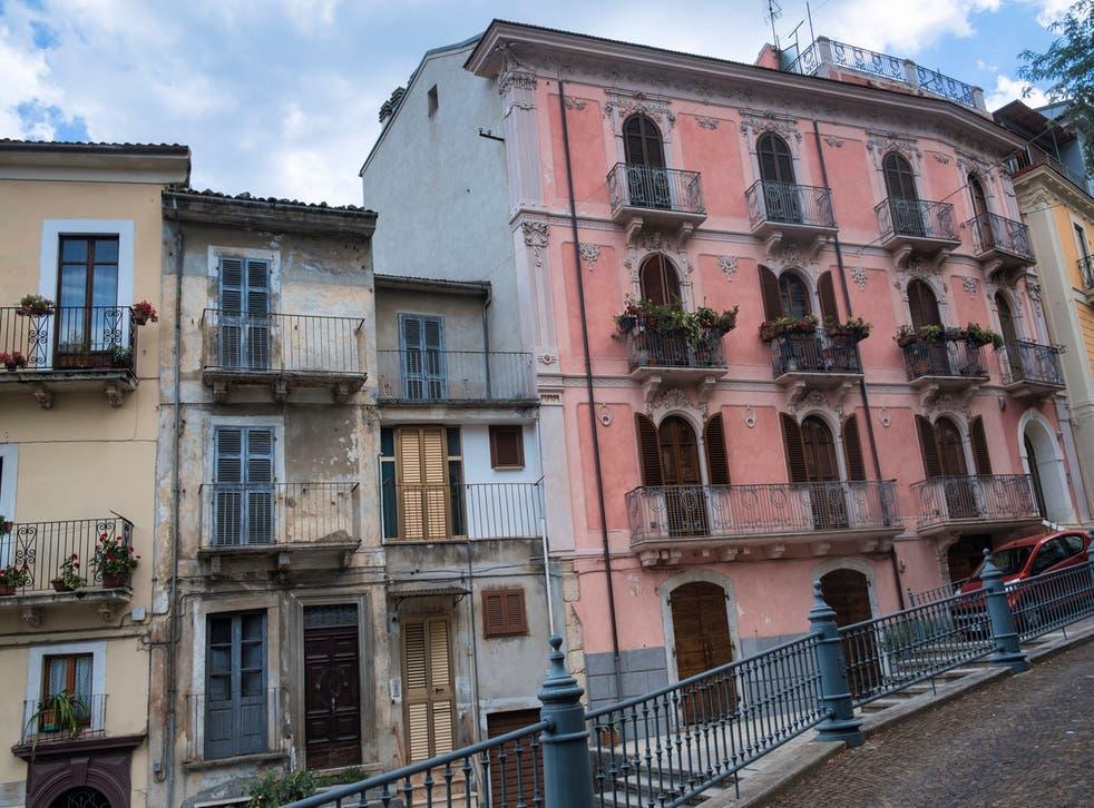 <p>Pratola Peligna is selling off empty homes</p>