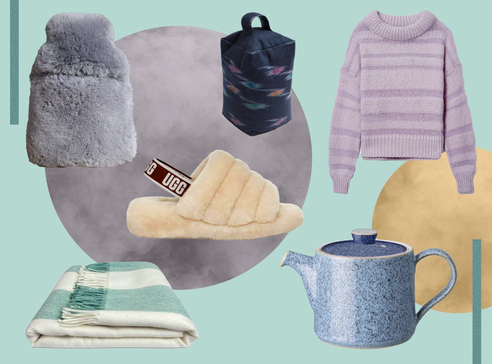 <p>From knitwear to slippers and hot drinks, this is all you need to battle the cold</p>
