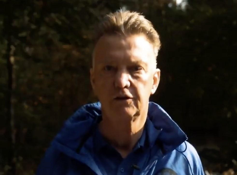 <p>Louis van Gaal is part of the new campaign </p>