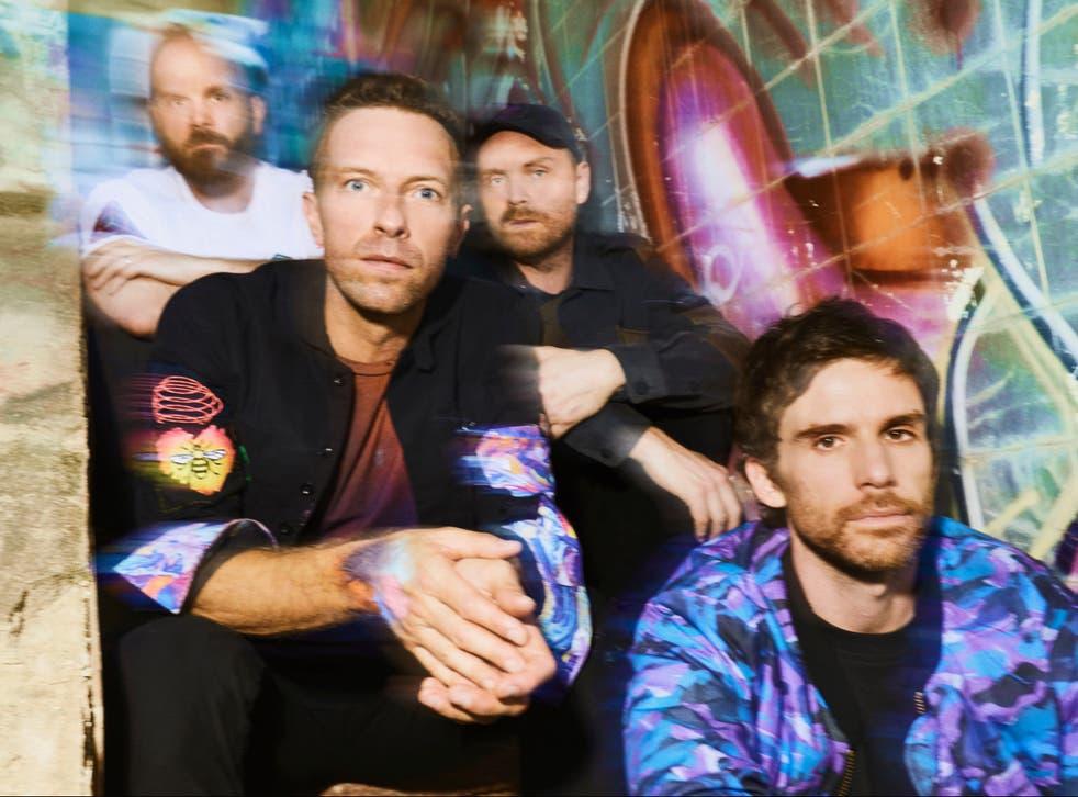 <p>Coldplay </p>