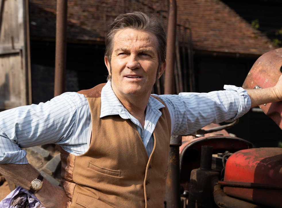 <p>Bradley Walsh in ITV's execrable literary adaptation 'The Larkins' </p>