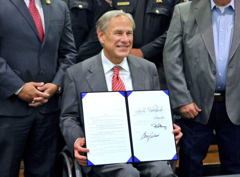 <p>Texas Governor Greg Abbott</p>