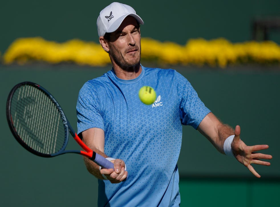 Andy Murray exited Indian Wells (Mark J. Terrill/AP)