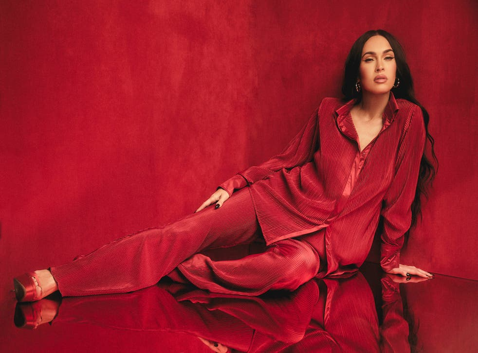<p>One of the looks from Megan Fox's collab with Boohoo</p>