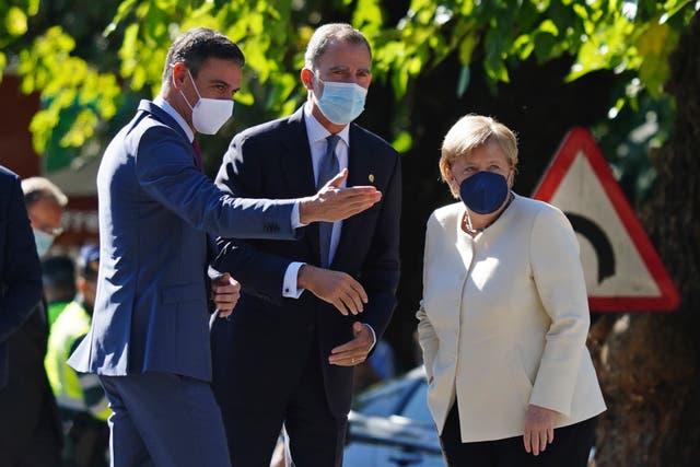 Spain Merkel