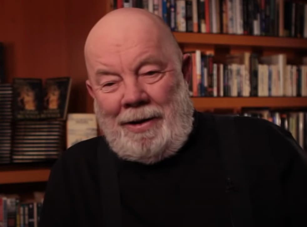 <p>Gary Paulsen reflects on life as an author in a 2010 video</p>