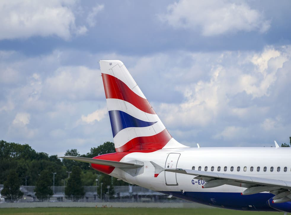 British Airways has announced it is recruiting cabin crew, after thousands lost their jobs at the airline last year (Steve Parsons/PA)