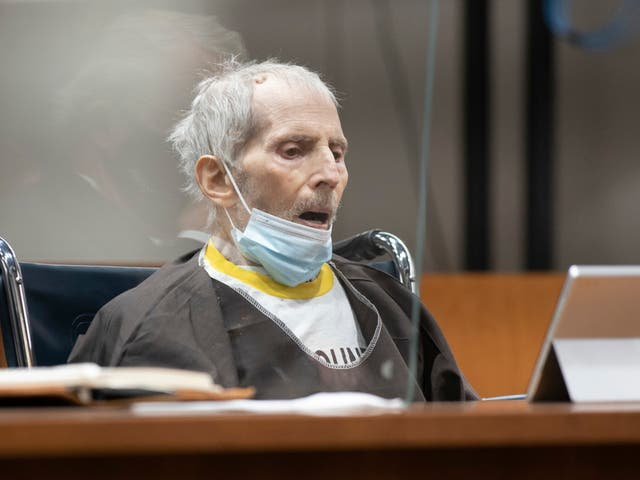 Robert Durst at his sentencing