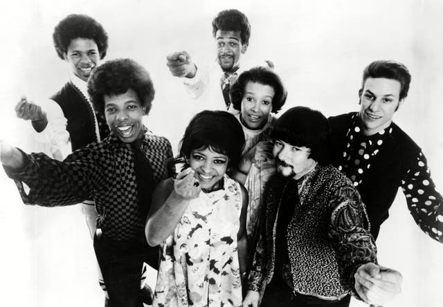 <p>The band, here in 1968, were pivotal in the development of funk and soul</p>