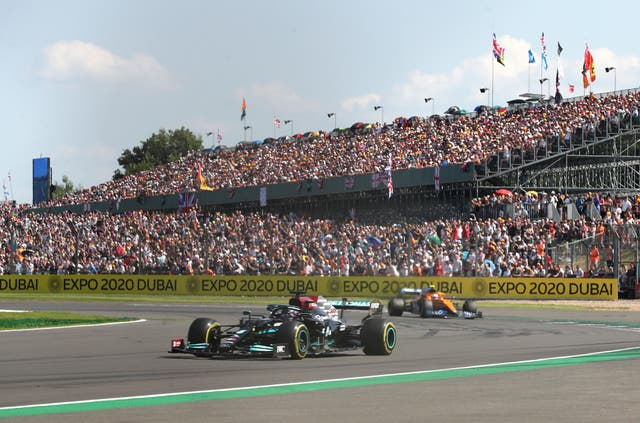 The 2022 British Grand Prix has been pencilled in for July 3 (Bradley Collyer/PA)