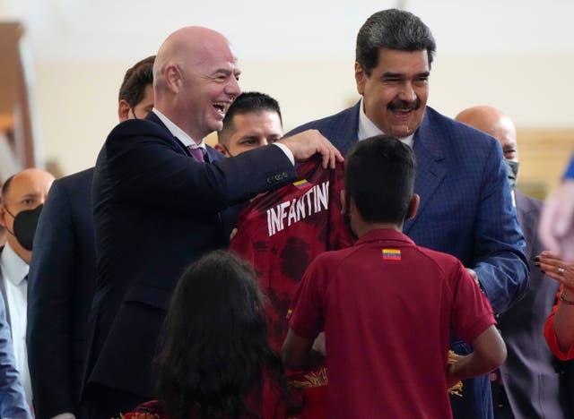 VENEZUELA-INFANTINO