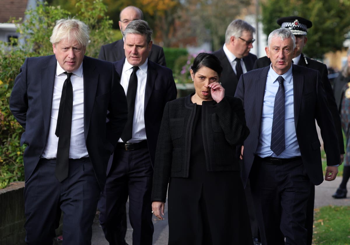 David Amess: Priti Patel drawing up police protection plan for MPs