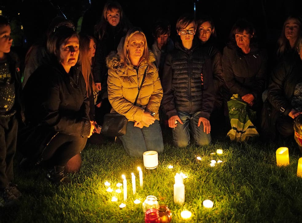 Candlelight Vigil for Murdered MP David Amess