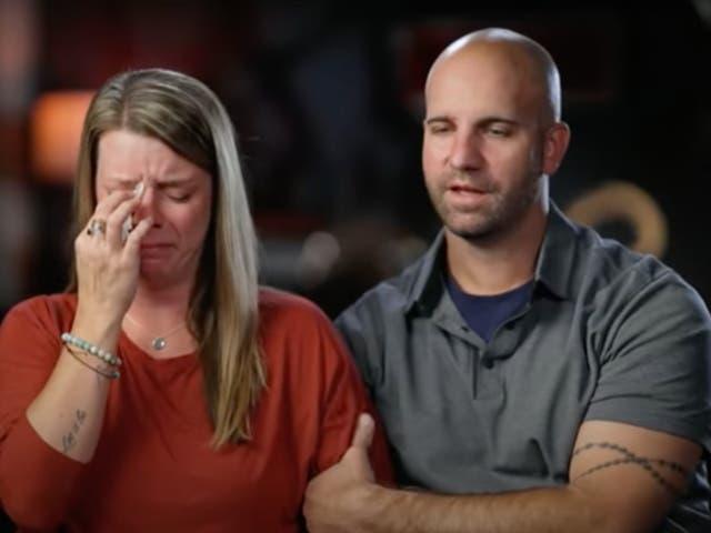 Jim and Nicole Schmidt, Gabby Petito's parents, speaking to Australia's 60 Minutes