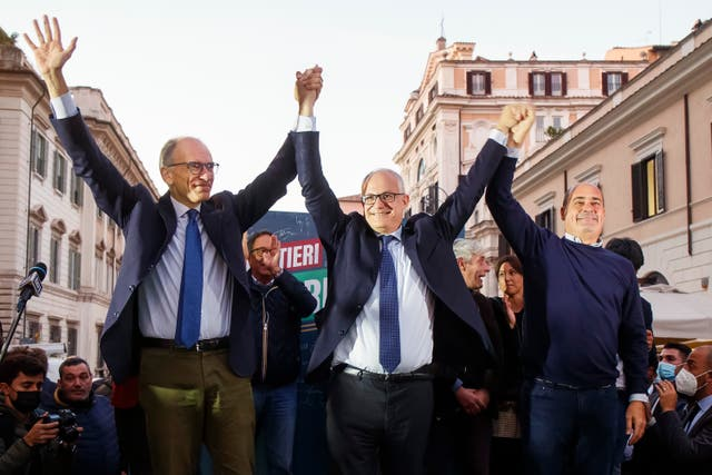 ITALIA-ELECCIONES-ALCALDIAS