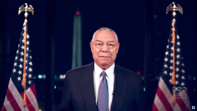 In August 2020 Powell addressed virtual Democratic National Convention in support of Joe Biden