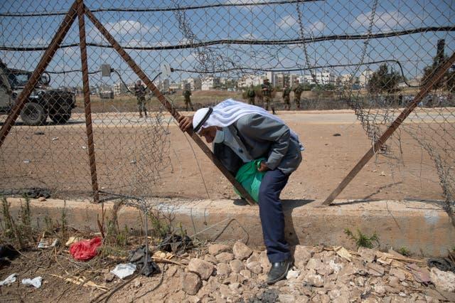 Israel Palestinian IDs
