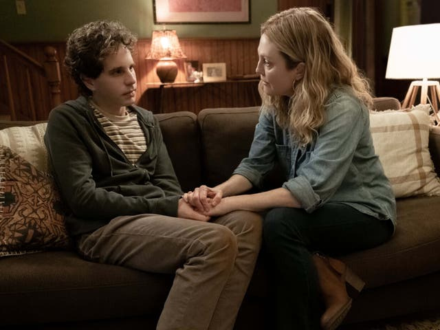 Ben Platt y Julianne Moore en 'Dear Evan Hansen'