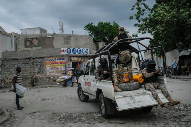 HAITI-SECUESTRO
