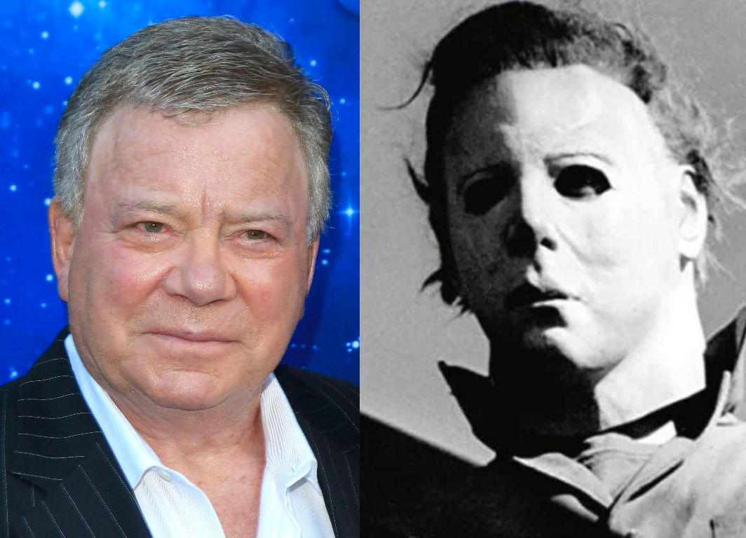 William Shatner thought it was 'a joke' that the Halloween mask was ...