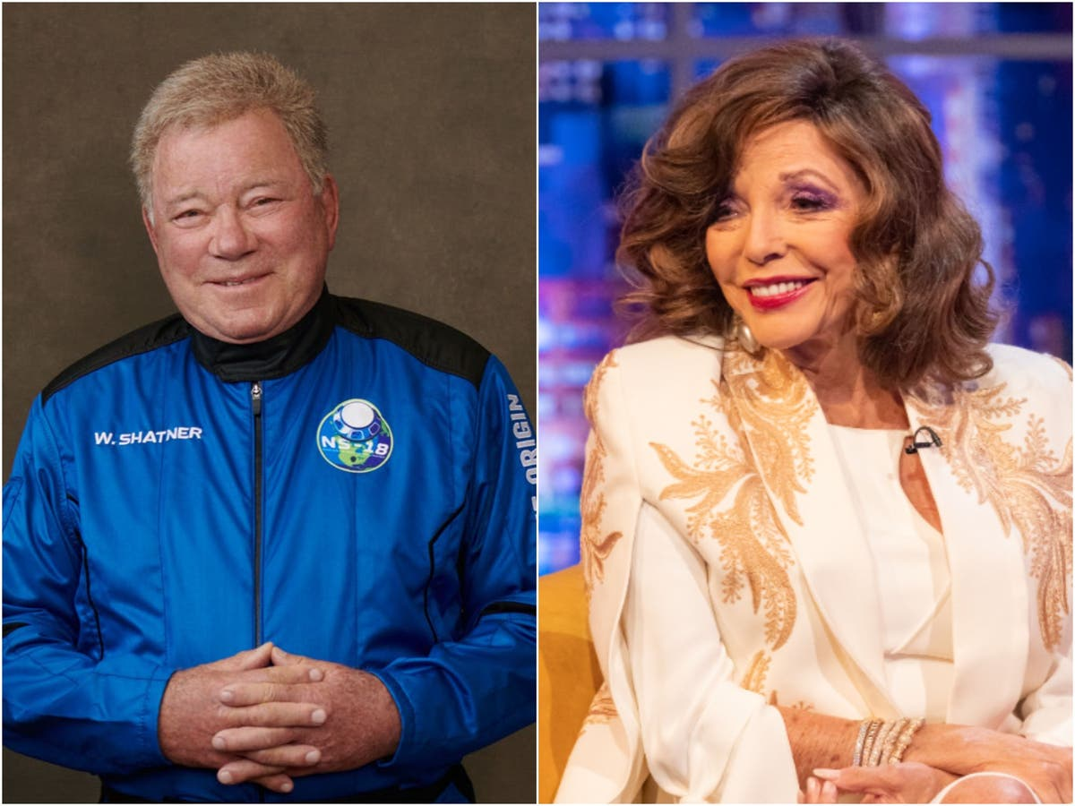 Joan Collins calls William Shatner a 'fool' for going to space | The ...