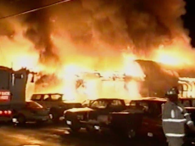 El club nocturno Station se incendió el 20 de febrero de 2003 y murieron 100 personas.
