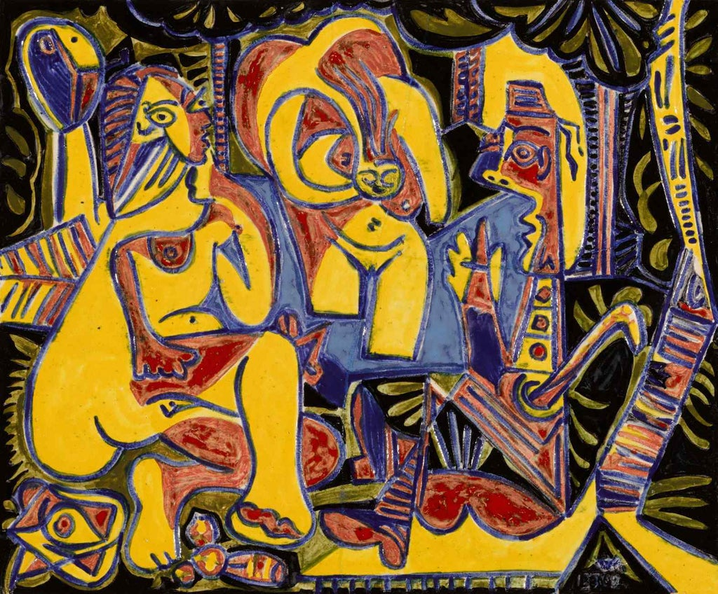 Picasso paintings sell for £80m in Las Vegas auction