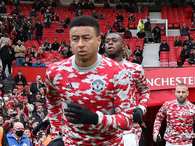 <p>Jesse Lingard was an unused substitute in Man United's thrashing by Liverpool</p>