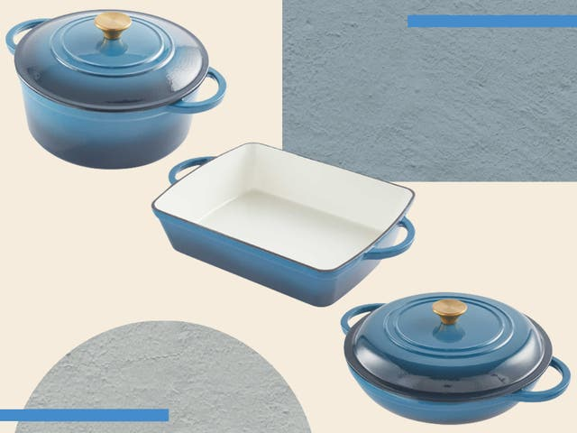 <p>From casserole dishes to griddle pans, you can buy the lot for just £165  </p>