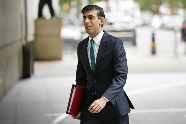 <p>Chancellor of the Exchequer Rishi Sunak will deliver his spending statement later this week (Aaron Chown/PA)</p>