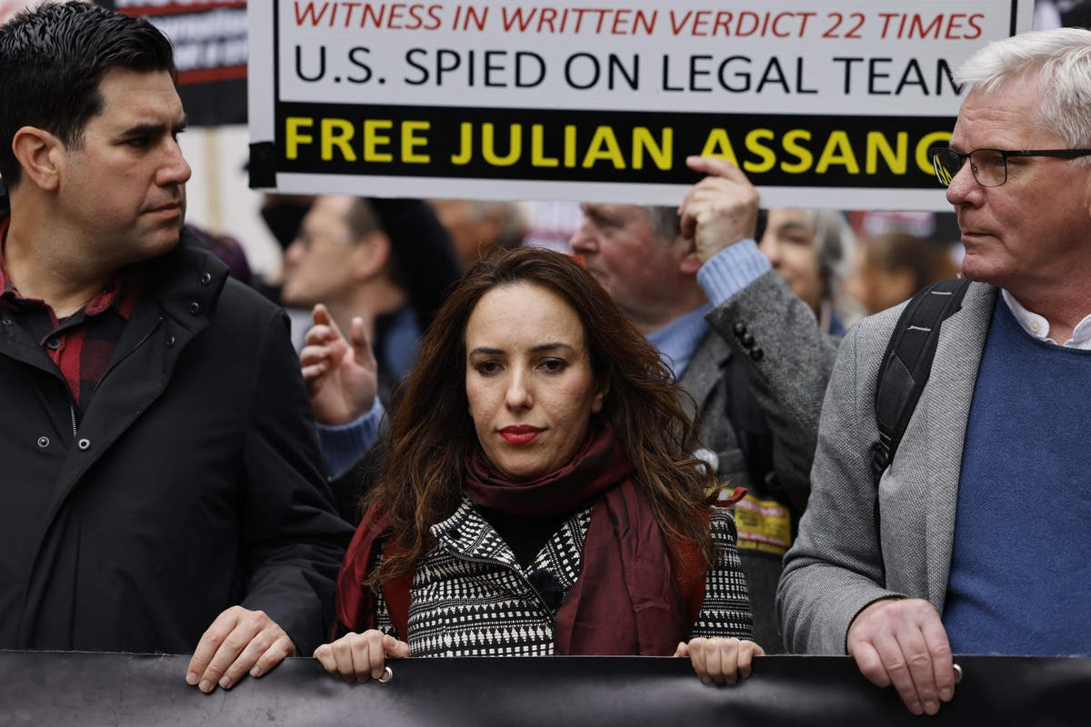 'I was taken aback by how thin he was': Julian Assange 'sick and very unwell' as he fights extradition to US - independent