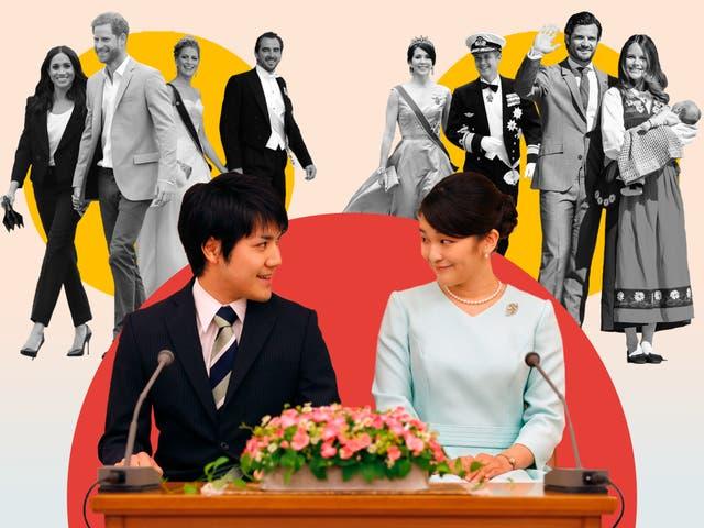 <p>La decisión de la princesa Mako fue más importante que otras, no es la primera vez que un miembro de la realeza se casa con alguien de clase baja.</p>