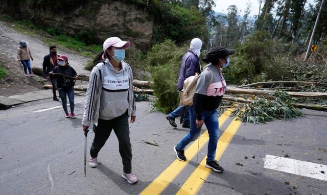 ECUADOR-HUELGA