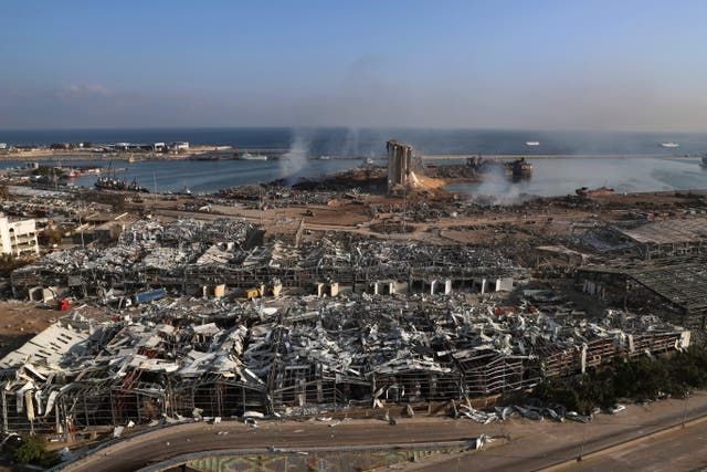 Lebanon Port Blast