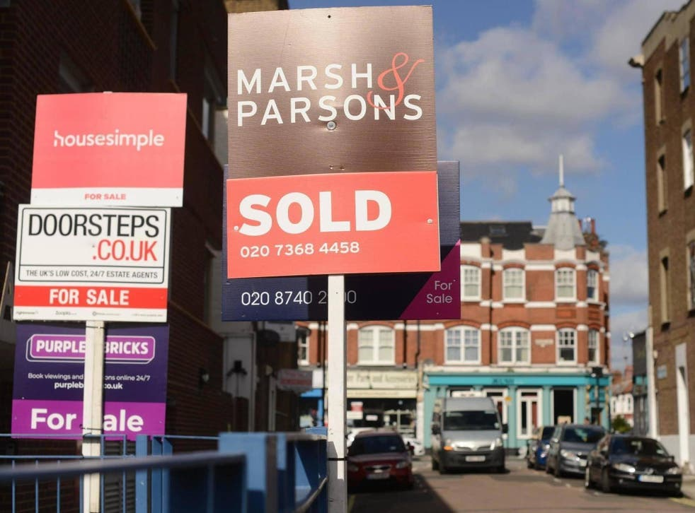 House prices in London have fallen for the 13th month on the trot wiping more than £9,000 off the average value of a home.