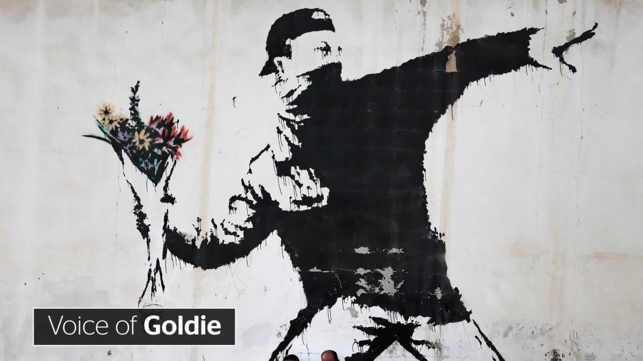 Banksy 8 signs massive attacks robert del naja is mystery artist the independent