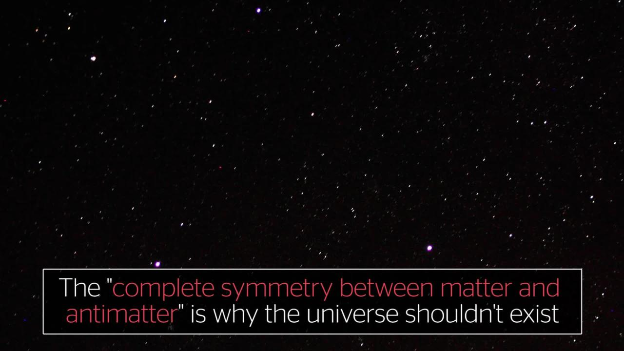 The universe shouldn't exist, scientists say after finding bizarre behaviour of anti-matter