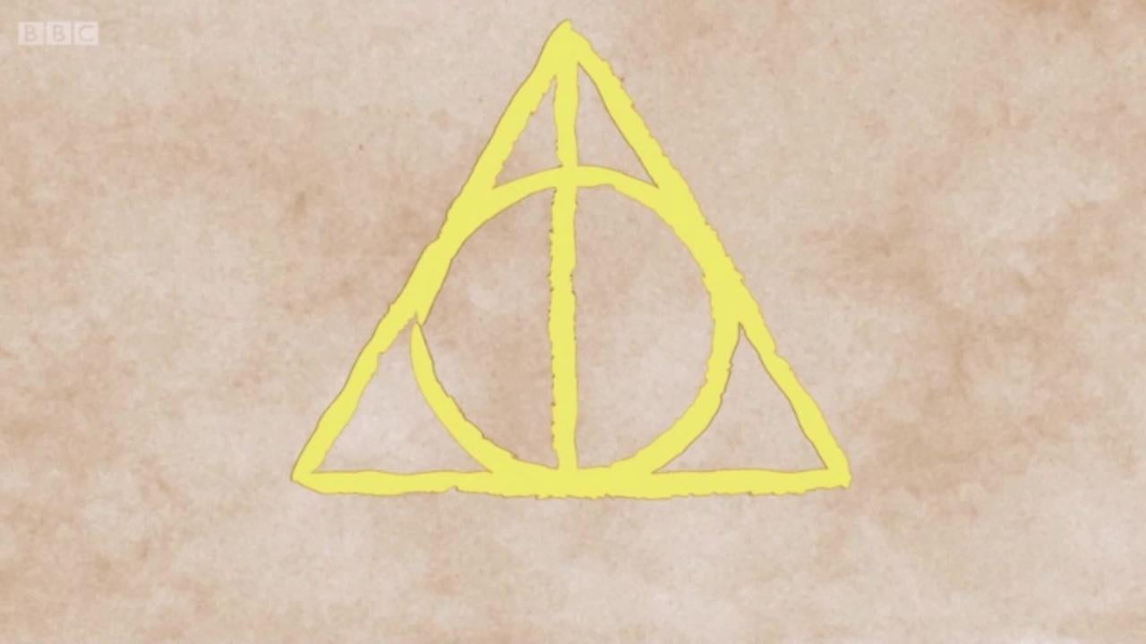 cc2ff1102 JK Rowling reveals the heartbreaking inspiration for the Deathly Hallows  symbol in Harry Potter | The Independent