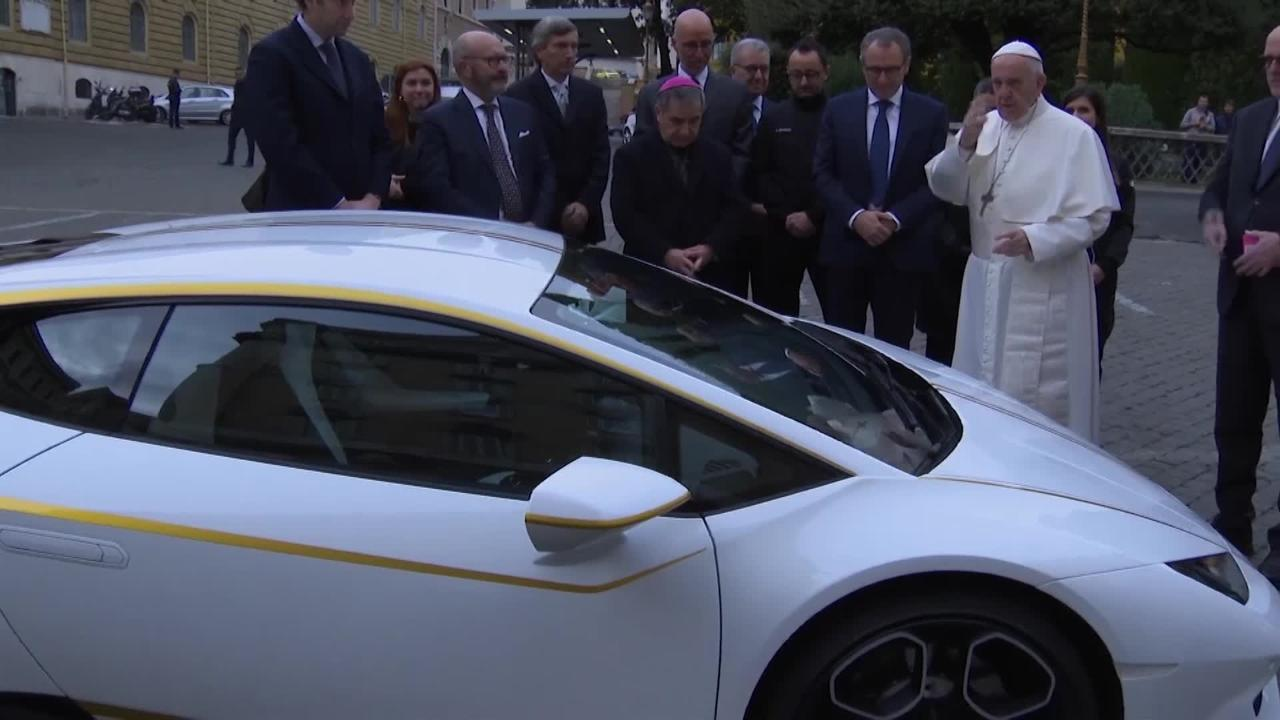 Signed Blessed Delivered Pope Francis Donates Personalised