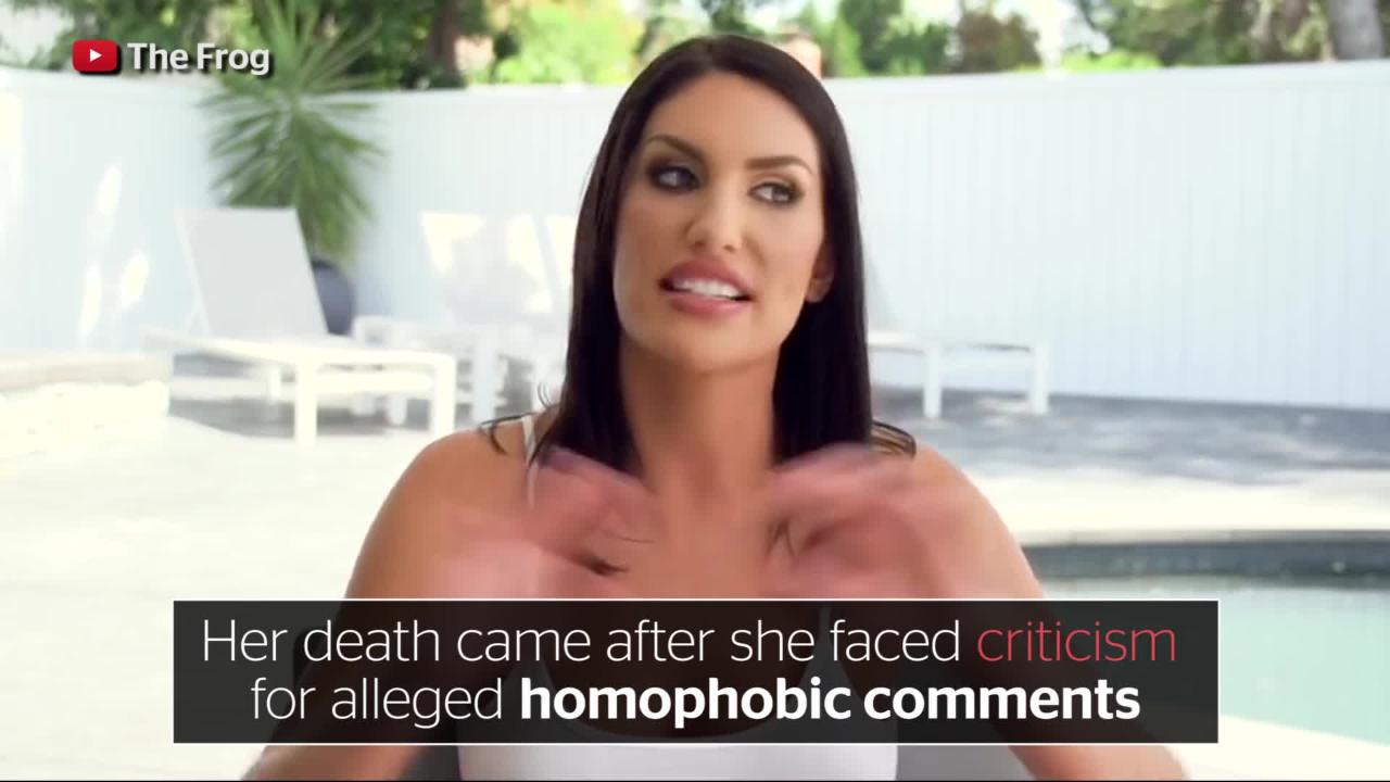August Ames dead: 23-year-old adult entertainment actor's body found after  homophobia row | The Independent