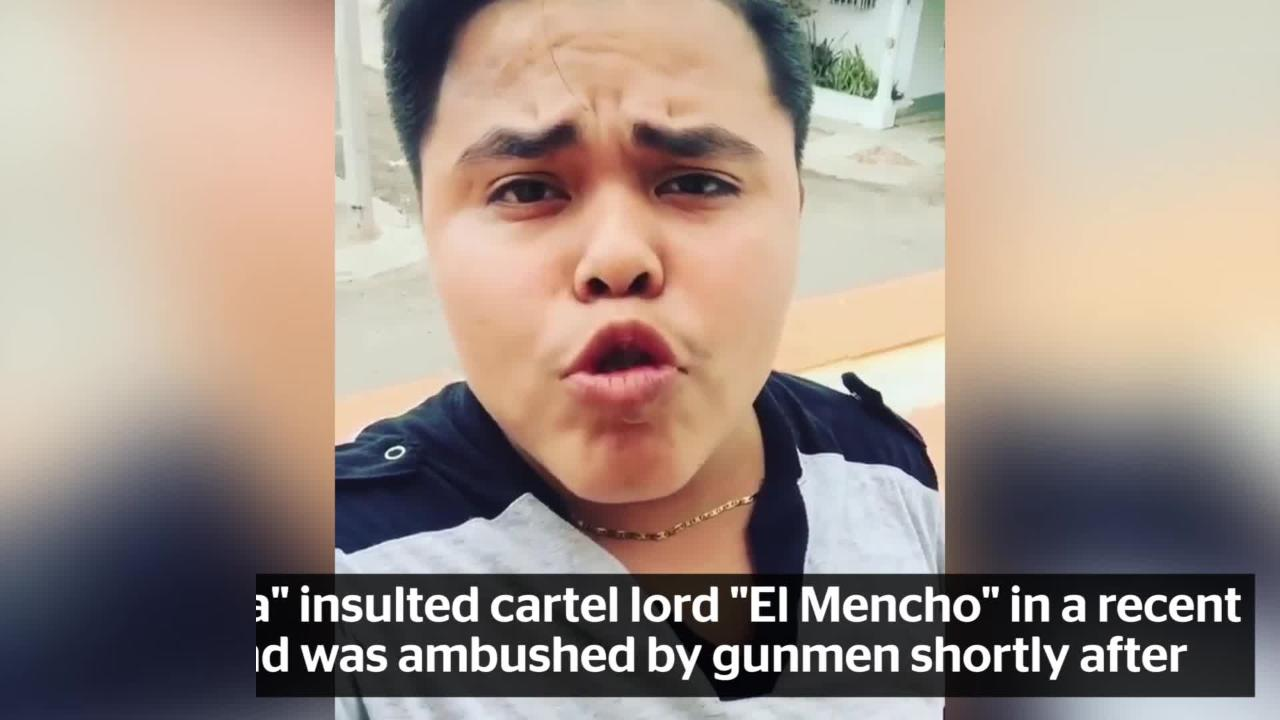 Mexican youtube star 17 found dead after insulting notorious cartel boss the independent