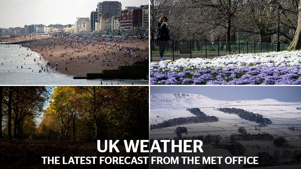 UK weather forecast: Easter temperature records could be broken as Britain's scorching weekend leaves Europe in the shade