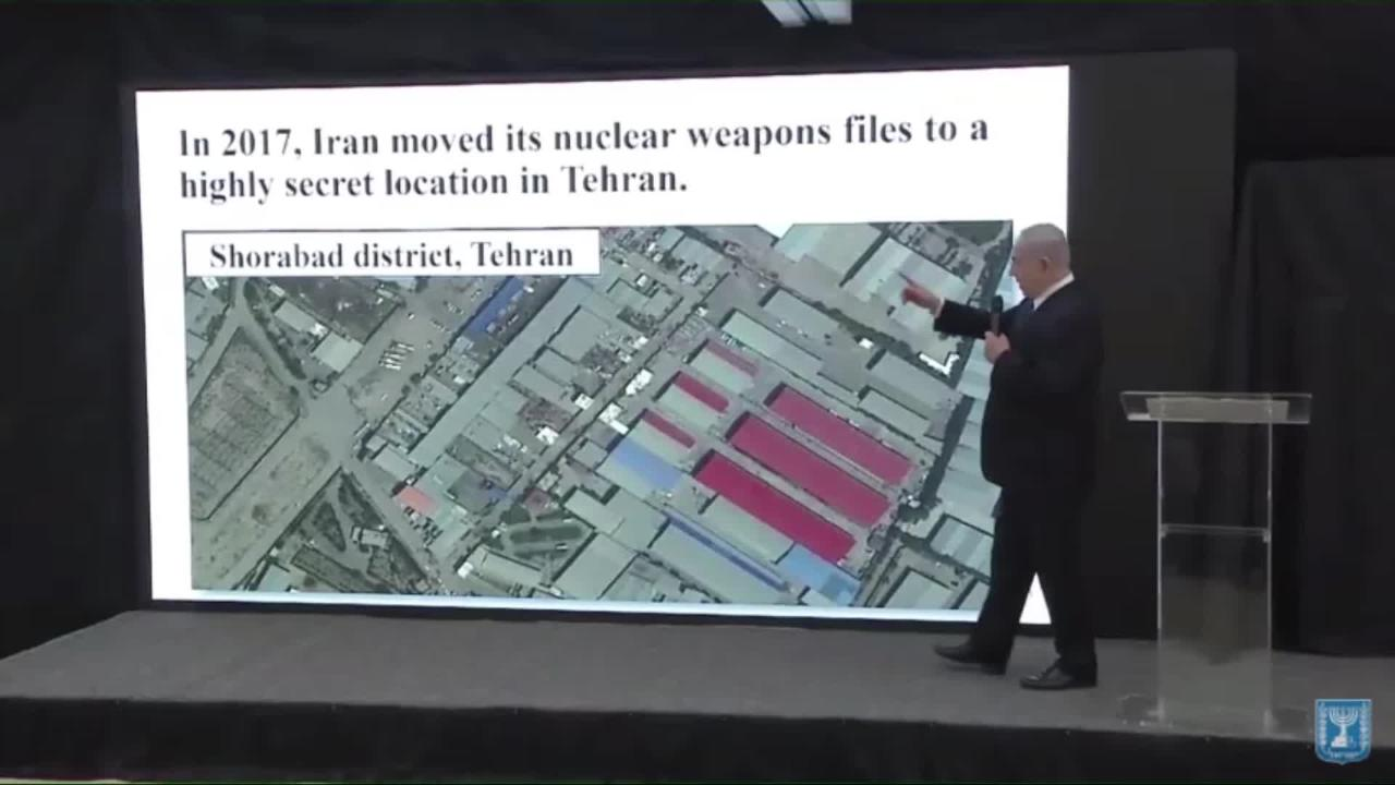 Thanks Netanyahu, but we didn't need a PowerPoint presentation to convince  us that you don't support the Iran nuclear deal   The Independent